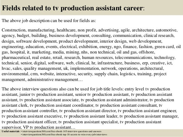 Example Cover Letter For Tv Production Assistant House Cleaning Resume  Magazine Editor Cover Letter Sample Cover