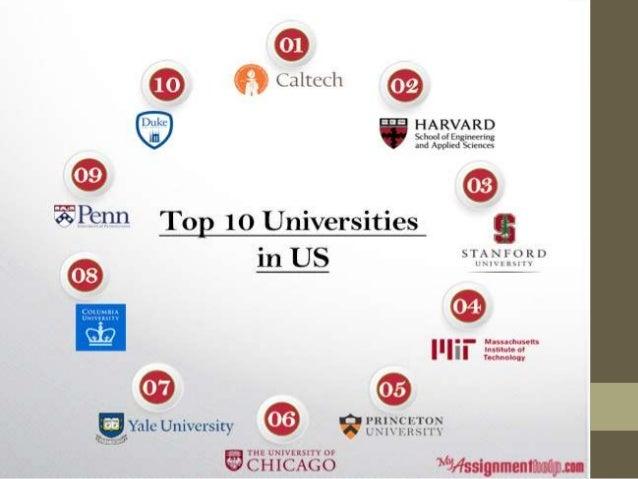 Best Universities In Usa >> Top 10 Universities In Usa For 2015 16