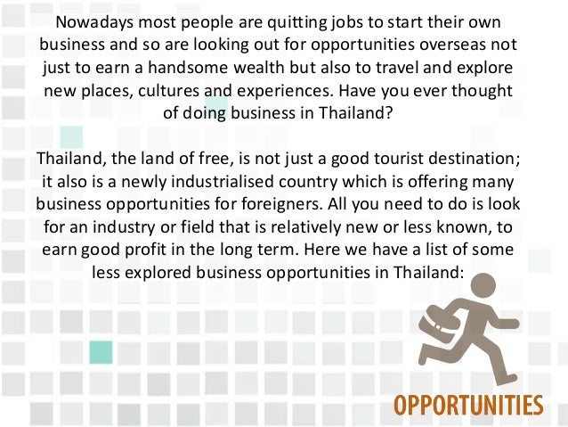 Job Vacancy In Thailand For Foreigners