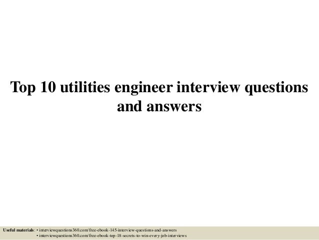 how to become a utility engineer