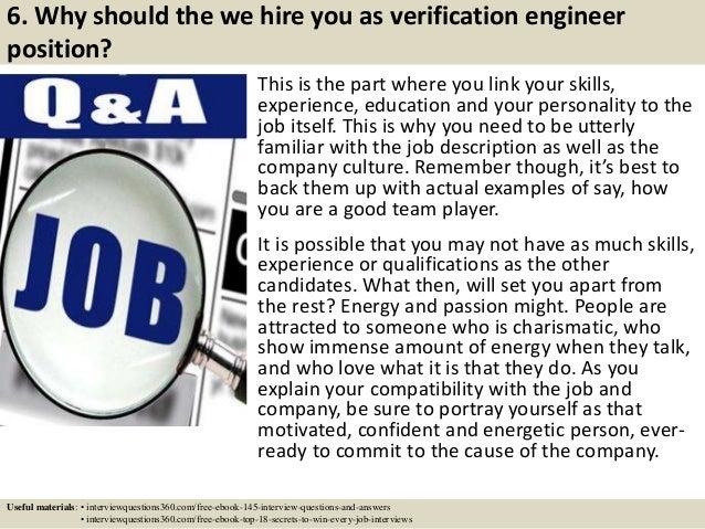 8 6 - Asic Verification Engineer Sample Resume