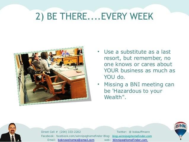 Top 10 ways to maximize benefits of your BNI membership