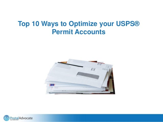 Top 10 Ways to Optimize your USPS® Permit Accounts