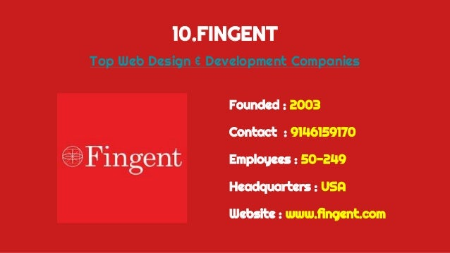 Top 10 Web Design Comapanies In India