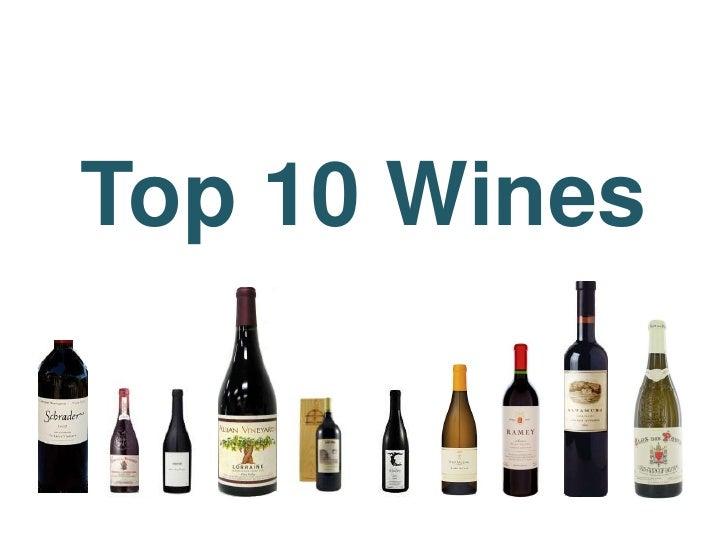 Top 10 Wines<br />