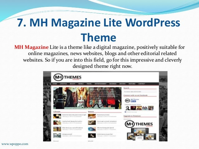 Find Out the Awesome Top 10 WordPress Themes - 웹
