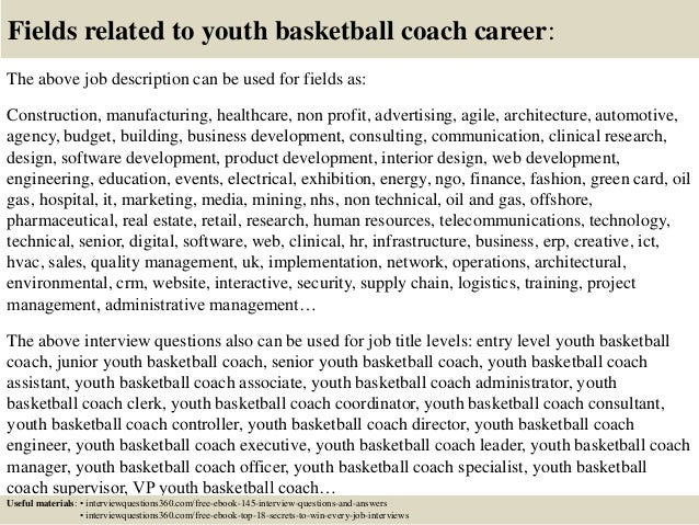 cover letter for a coaching job