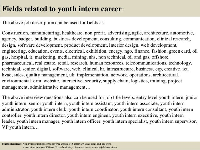 youth intern