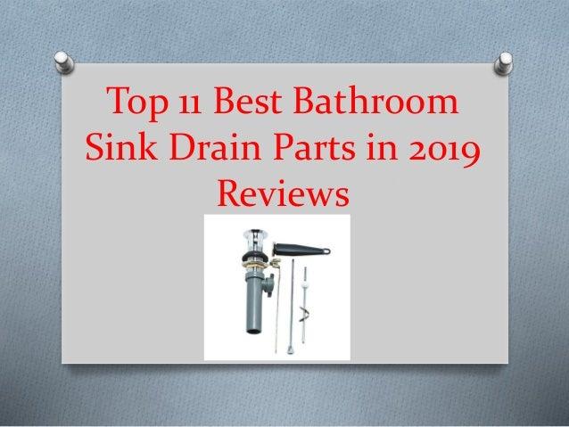 Top 11 Best Bathroom Sink Drain Parts In 2019 Reviews