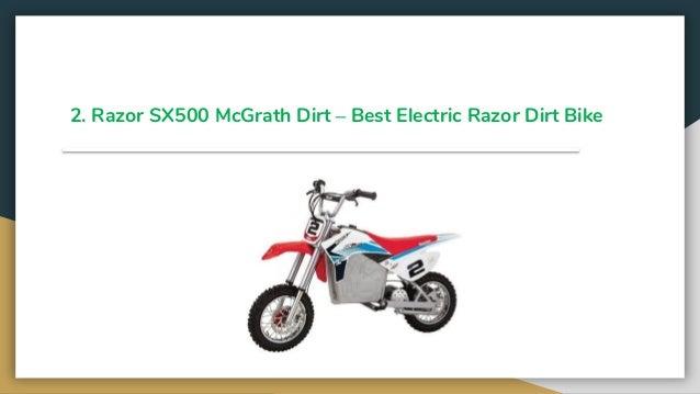 Top 11 best razor dirt bikes 2019 review