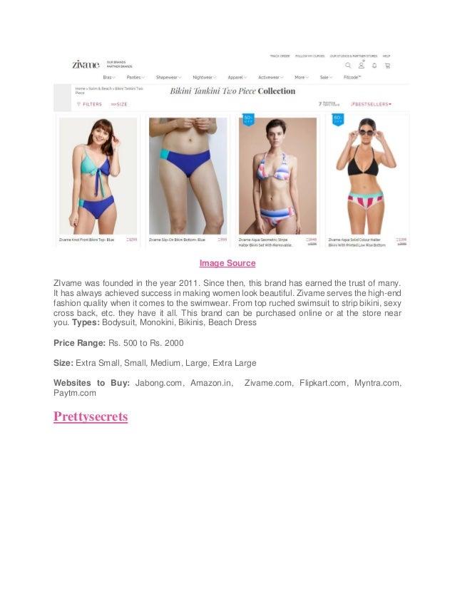 Top 11 bikini brands to get classy makeover