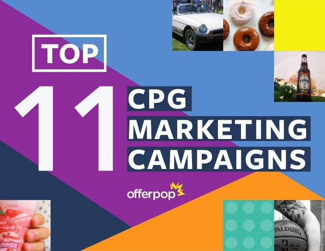 CPG MARKETING CAMPAIGNS TOP