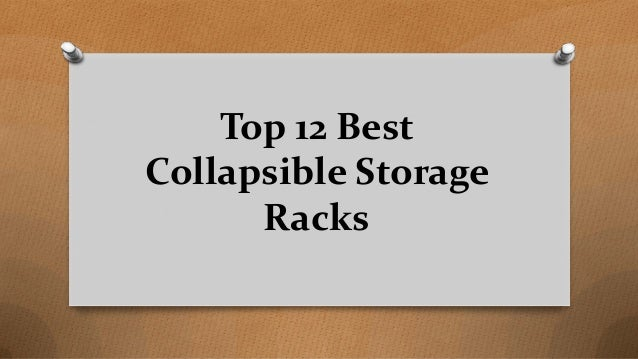 Top 12 Best Collapsible Storage Racks
