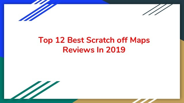 Top 12 Best Scratch off Maps Reviews In 2019