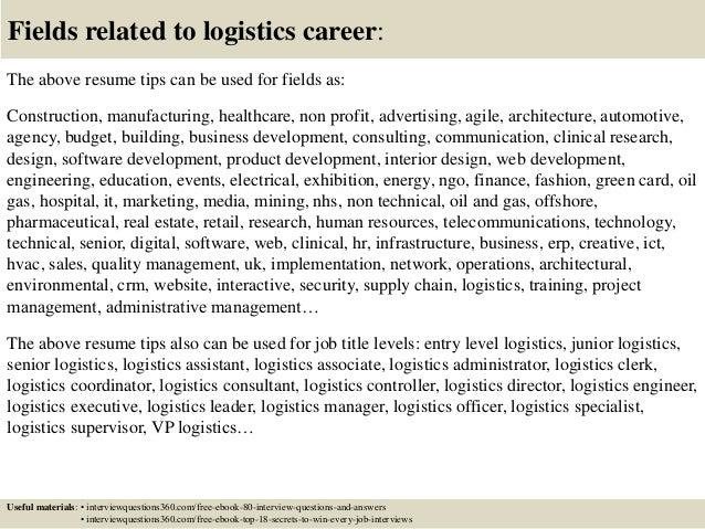 logistics objective resume manqal hellenes co