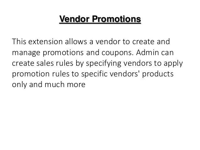 Extensions de promotion