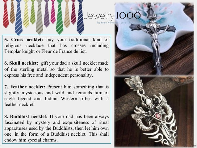 63060b7288111 Top 12 mens sterling silver jewelry gift ideas for father's day