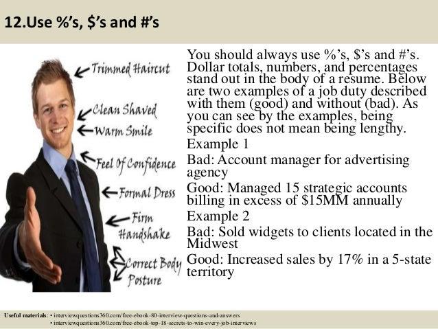 top 12 secretary resume tips