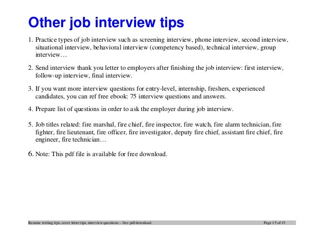 Effective Resumes Tips ...