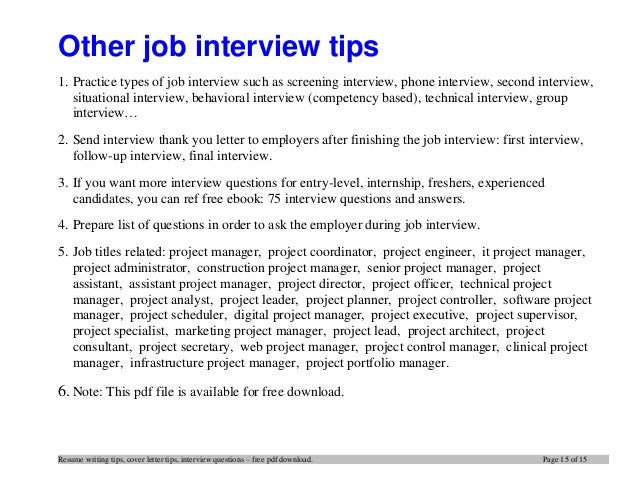 tips for writing cover letters effectively - top 12 tips for writing an effective project resume