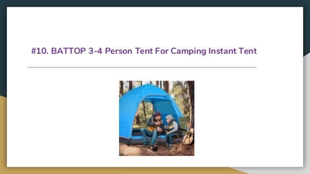 Top 13 Best Instant Tents In 2019
