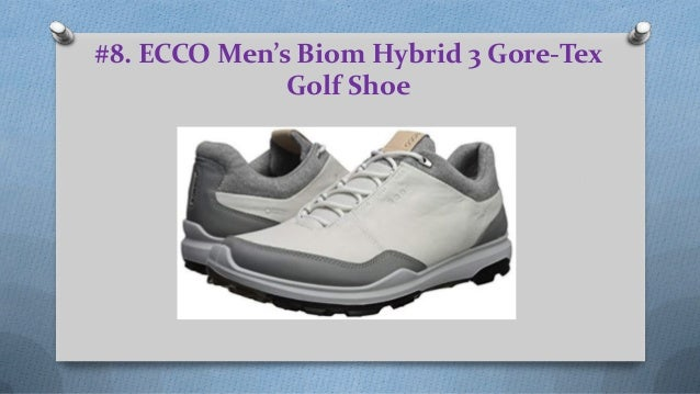 d5204924fd866 ECCO Men's Biom Hybrid 3 Gore-Tex Golf Shoe ...