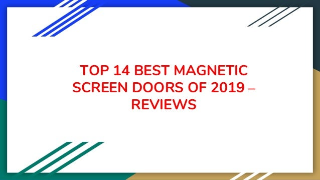 TOP 14 BEST MAGNETIC SCREEN DOORS OF 2019 – REVIEWS