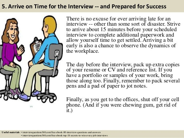top 14 teacher interview tips