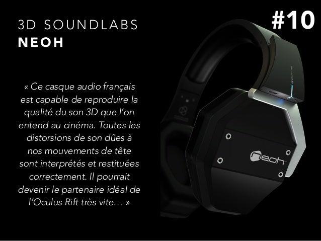 3 D S O U N D L A B S N E O H «Ce casque audio français est capable de reproduire la qualité du son 3D que l'on entend au...