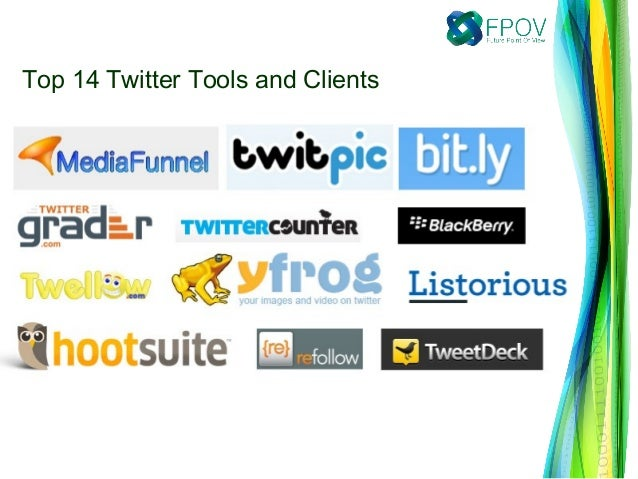 Top 14 Twitter Tools and Clients