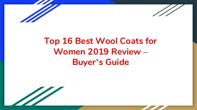 Top 16 Best Wool Coats for Women 2019 Review – Buyer's Guide