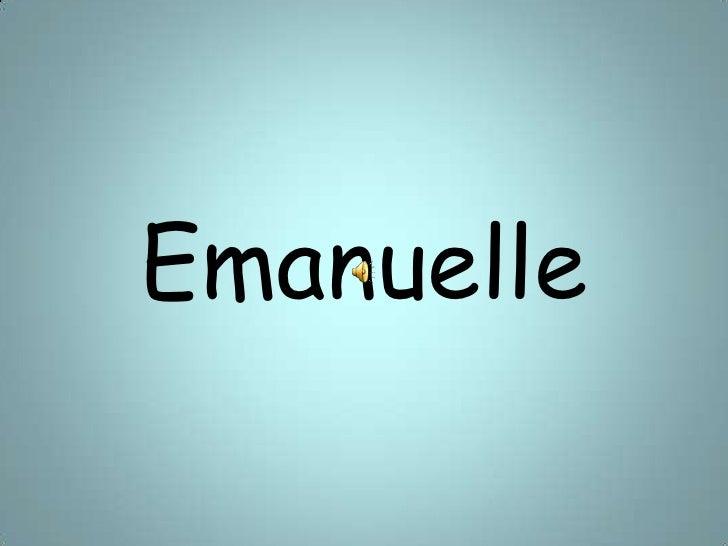 Emanuelle<br />