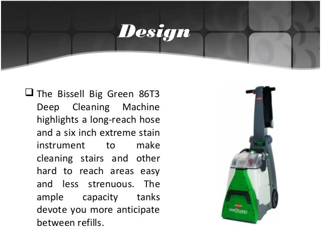 Bissell Big Green Machine Upholstery Carpet