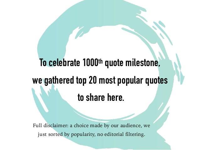 Popular Quotes | Top 20 Agile Quotes
