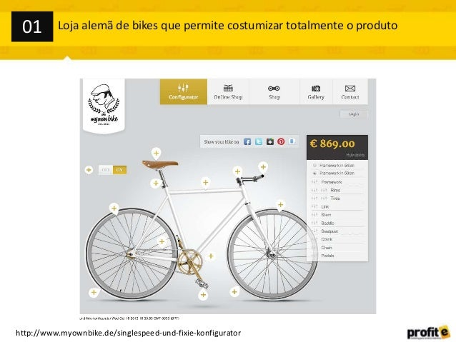 01  Loja alemã de bikes que permite costumizar totalmente o produto  http://www.myownbike.de/singlespeed-und-fixie-konfigu...