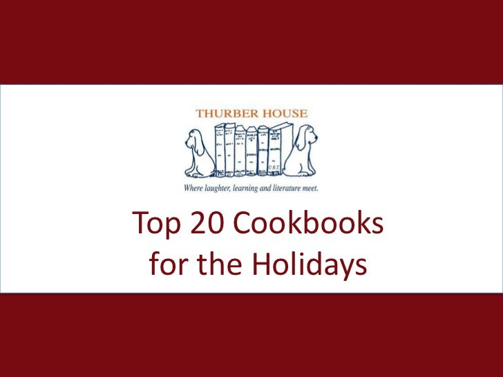 Top 20 Cookbooks for the Holidays