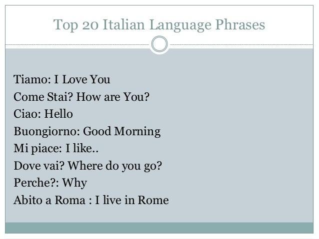 Best way to learn Italian - YouTube