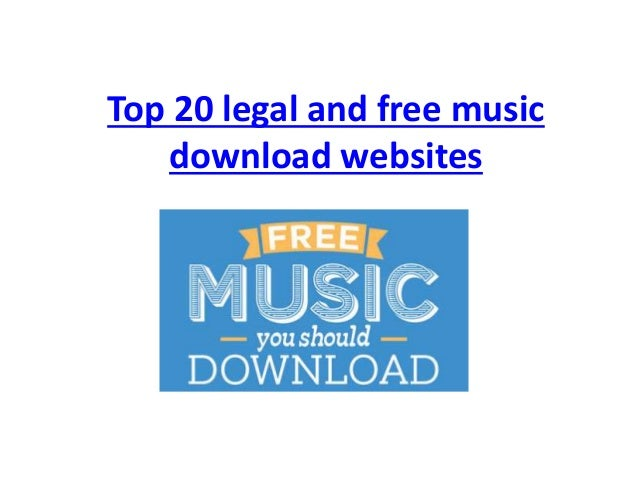 Top 20 legal and free music download websites for Top 20 house music
