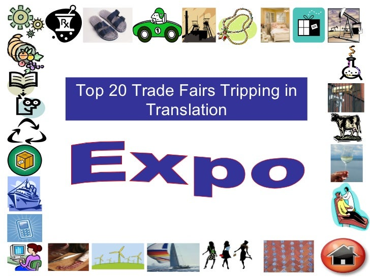 Top 20 Trade Fairs Tripping in Translation Expo