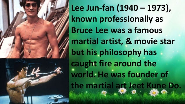 Top 25 Inspirational Quotes Of Bruce Lee