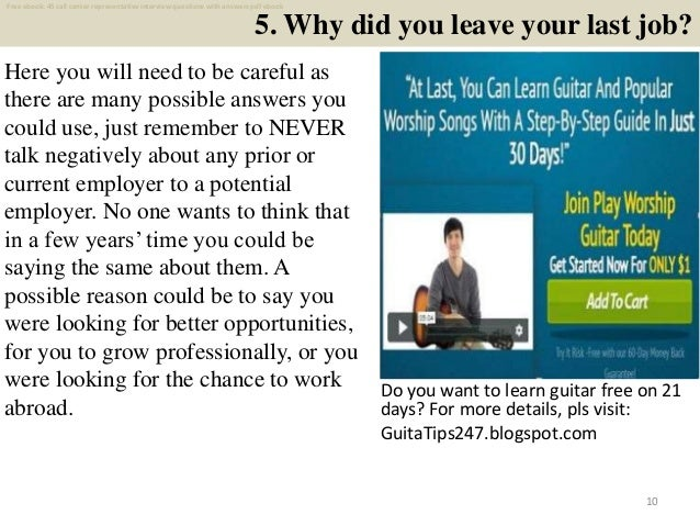 Top 25 call center representative interview questions and ...