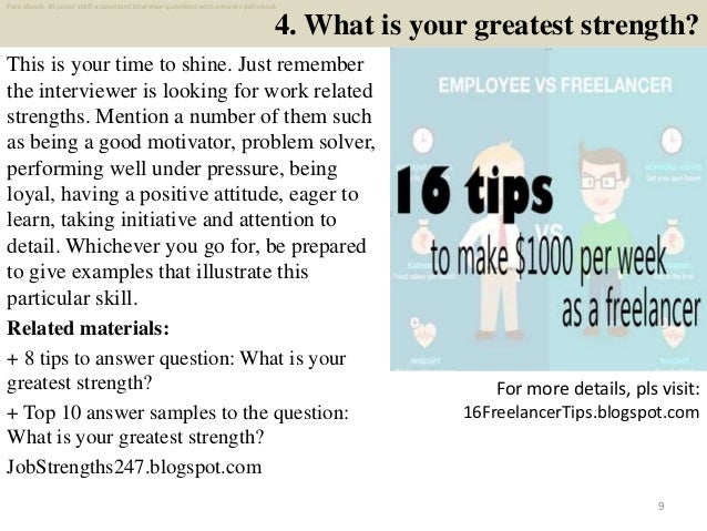 Top 25 junior staff accountant interview questions and ...