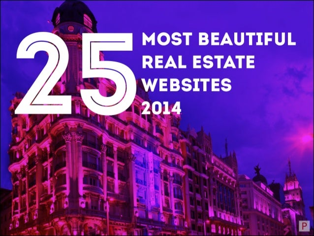 MOST BEAUTIFUL REAL ESTATE SITES