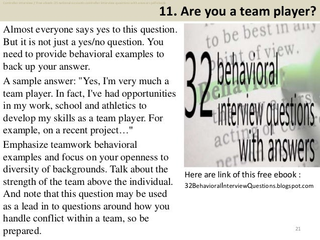 Top 25 national accounts controller interview questions and answers p 21 11 fandeluxe Gallery
