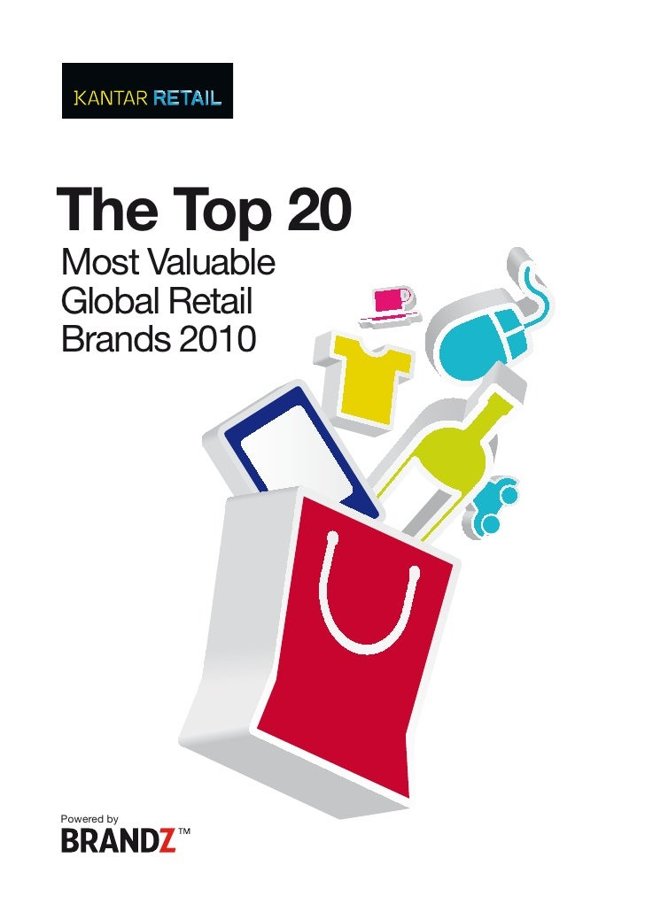 The Top 20 Most Valuable Global Retail Brands 2010     Powered by