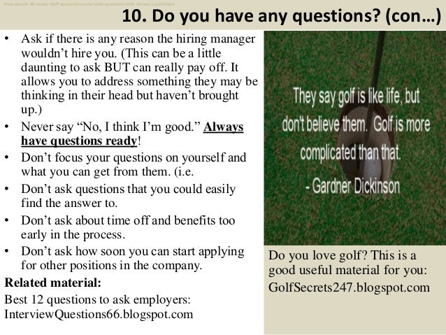 Top 25 senior staff accountant interview questions and ...