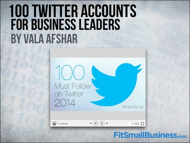 100 Twitter Accounts 