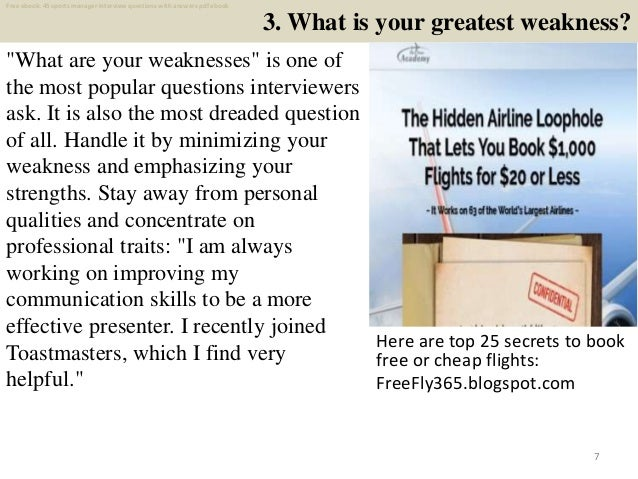 Top 25 sports manager interview questions and answers pdf ...