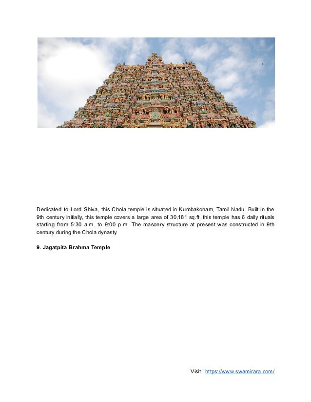 Top 25 thousand year old temples in india google docs