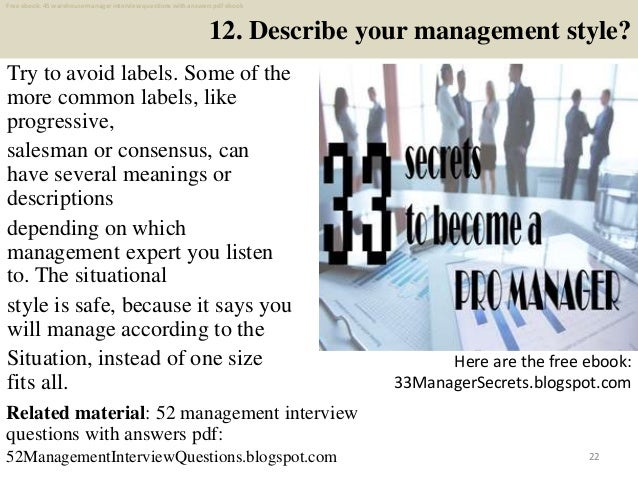 Top 25 warehouse manager interview questions and answers ...